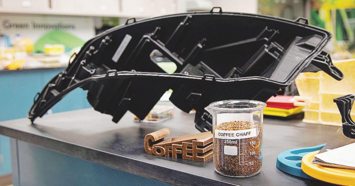 Ford, via la plastica: i componenti si fanno col caffè