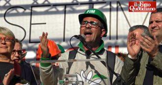 """Ex Ilva, manifestazione sindacati a Roma: """"Politica non ci usi per campagna elettorale. Governo dia risposte, Mittal non può ricattarlo"""""""