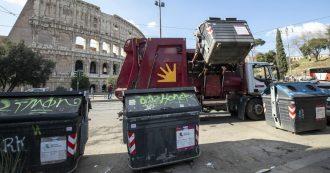 """Rifiuti Roma, Ispra: """"Aumentata la produzione. Nel 2018 la differenziata è calata al 42,9%"""". Raggi prometteva di portarla a 70% entro 2021"""