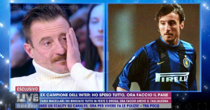"""Fabio Macellari, l'ex calciatore dell'Inter ora fa il panettiere per colpa della droga: """"Ho buttato tutti i soldi"""""""
