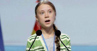 """Cop25, Greta Thunberg: """"I leader dei Paesi ricchi non hanno senso di panico per l'emergenza climatica. Non c'è più tempo"""""""