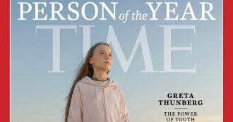 """Greta Thunberg scelta dal Time come """"Persona dell'Anno"""": la 16enne è la più giovane di sempre"""