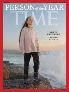 """Greta Thunberg scelta dal Time come """"Persona dell'Anno"""": la"""