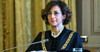 """Corte costituzionale, la prima volta di una donna presidente: eletta Marta Cartabia. """"Si è rotto un vetro di cristallo"""""""