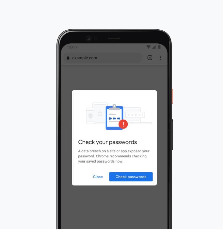 Il browser Chrome 79 potenzia la sicurezza controllando pass