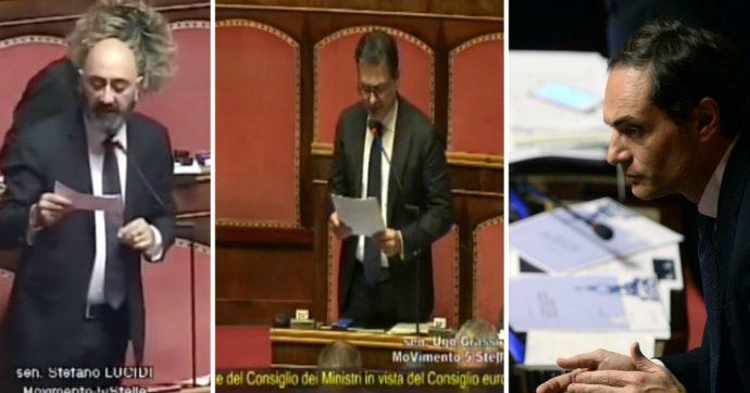 """M5s, tre senatori verso l'uscita dal gruppo. Di Maio: """"Salvini ha aperto il mercato delle vacche"""". Il leghista: """"Io sono coerente"""""""
