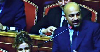 """Mes, senatori M5s votano no: applausi da Lega e Salvini. Paragone: """"Mio dissenso non prelude a cambio di gruppo"""""""