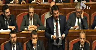 """Mes, Salvini: """"Non abbiamo progetti per far uscire l'Italia dall'euro e dall'Europa. Vogliamo difendere italiani"""""""