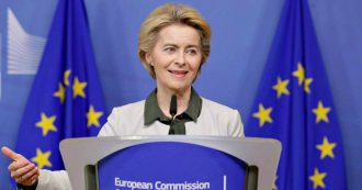 """Recovery fund, Von der Leyen: """"Polonia e Ungheria? Se vogliono si rivolgano alla Corte Ue. Milioni di cittadini hanno bisogno di aiuti"""""""