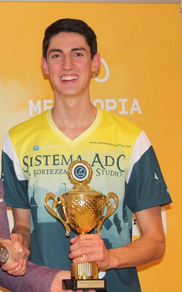 Il campione mondiale di memoria è italiano. Andrea Muzii ha