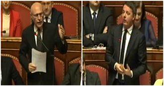 """Di Nicola (M5s) a Renzi: """"Falso che Leone si dimise per scandalo montato dai media. Qui inquisiti condannati e voi ancora li difendete"""""""