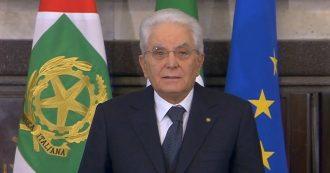 """Foibe, Mattarella: """"Sciagura nazionale alla quale non fu attribuito il dovuto rilievo. No al negazionismo, avversario è l'indifferenza"""""""