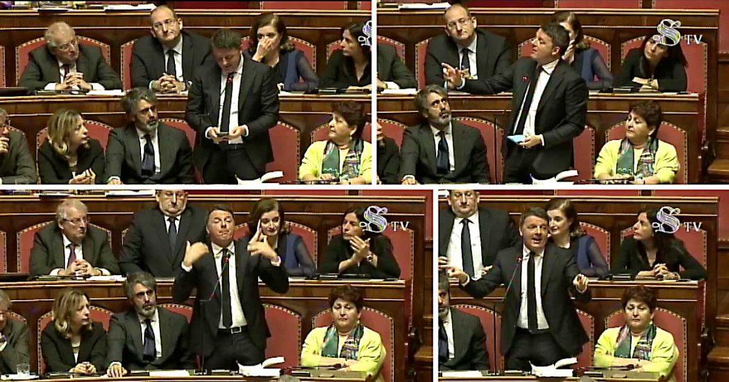 Open, Renzi usa il Senato per attaccare i magistrati: 'Decidono cosa è politica e cosa no'. Poi cita Moro e Craxi: 'No ai processi nelle piazze'