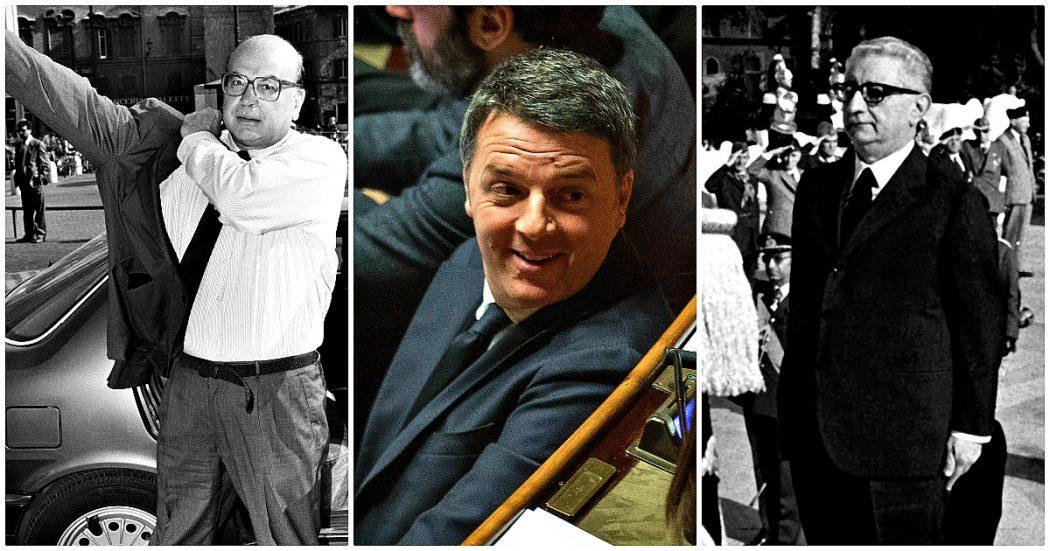 Renzi e le citazioni storiche: sbaglia la ricostruzione del caso Leone (sbugiardato da un senatore). E reinterpreta il discorso di Craxi del '92
