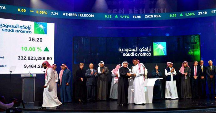 """Saudi Aramco, dopo la quotazione vale 2mila miliardi di dollari: il doppio di Apple. Analisti: """"Successo solo grazie a Kuwait ed Emirati"""""""