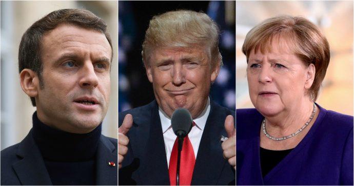 Unione europea, l'asse franco-tedesco è in crisi. E tra i due litiganti, Trump gode