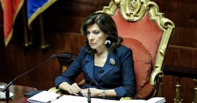 """Coronavirus, l'ira della Casellati: """"Due senatrici controllate e segnalate dalla polizia mentre venivano a Roma. Inaccettabile"""""""