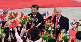 """Dazi Usa-Cina, Trump: """"Siamo molto vicini a un grande accordo"""". Wsj: """"Pronto a dimezzare quelli esistenti e cancellare i nuovi"""""""