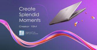 MSI Creator 15M e 17M, due nuovi portatili dedicati alla creatività
