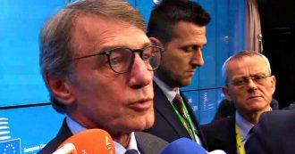 """Bilancio Ue, Sassoli boccia i tagli a coesione e sicurezza contenuti nella proposta finlandese : """"Intollerabile per tutto il Parlamento"""""""