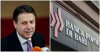 """Popolare di Bari, Conte: """"A breve un Consiglio dei ministri, non tuteleremo alcun banchiere"""". Salvini: """"Pronti a metterci attorno a un tavolo"""""""