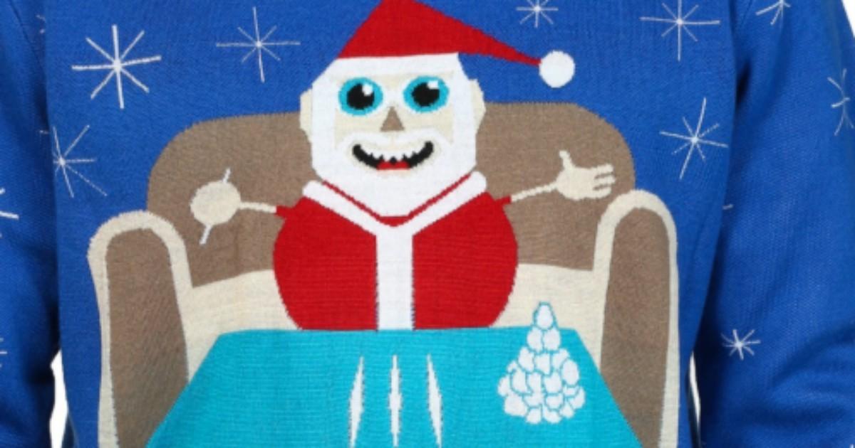 A Che Ora Arriva Babbo Natale.Babbo Natale Che Pippa Cocaina Il Maglione Che Fa Discutere Sappiamo Tutti Come Funziona La Neve La Migliore Arriva Dal Sud America Il Fatto Quotidiano