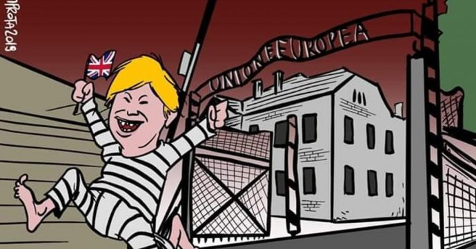Risultati immagini per vignetta marione auschwitz