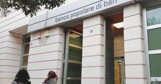 Oggi il decreto salva Pop Bari: dallo Stato almeno 500 milioni