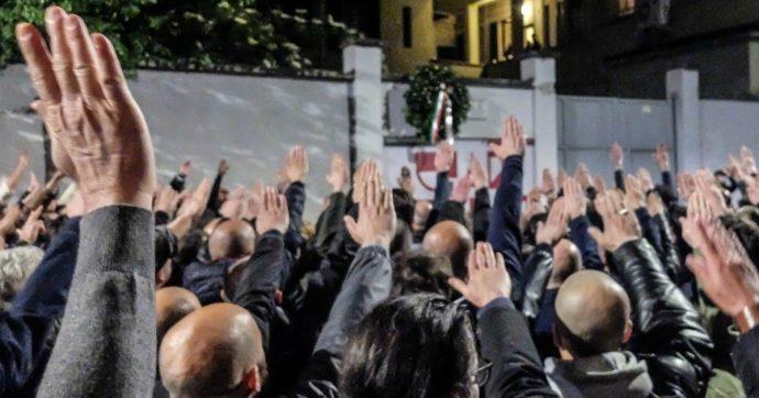 Milano, saluto romano al corteo per Ramelli: chiesto processo per 28. Fra loro il presidente di Casapound e l'editore del libro di Salvini