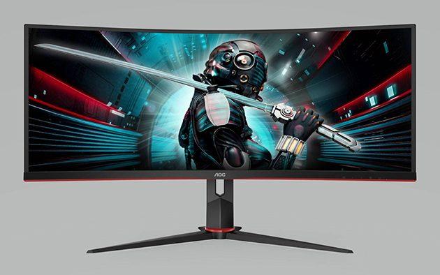 AOC CU34G2 e CU34G2X, nuovi monitor gaming in arrivo a genna