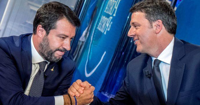 In Edicola sul Fatto Quotidiano del 16 Dicembre: Dietro l'Inciucione di Salvini c'è il patto con  Renzi contro Conte