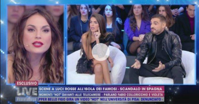 """Live Non è la D'Urso, Fabio Colloricchio: """"Il sesso all'Isola dei Famosi? Non sapevamo che c'erano le telecamere"""""""