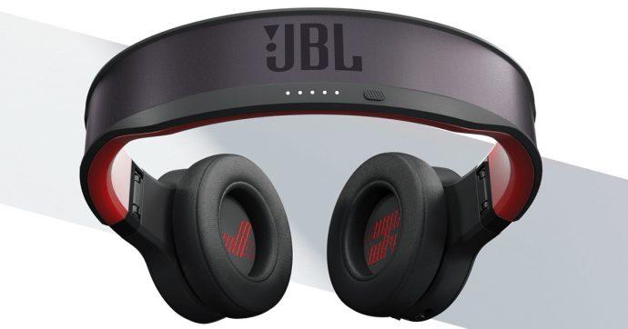 JBL Reflect Eternal, le cuffie che sfruttano la luce per ricaricarsi all'infinito