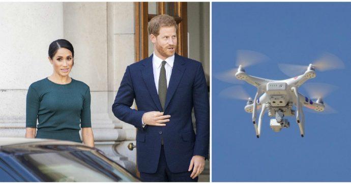 """""""Harry e Meghan hanno rischiato di morire in volo per colpa di un drone"""""""