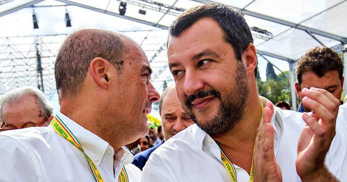 Sondaggi, prosegue il calo della Lega: ora ha solo un punto e mezzo di vantaggio sul Pd. Fiducia nei leader: Zaia ha il 20% più di Salvini