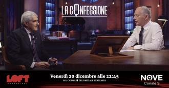 """La Confessione (Nove), Casini a Gomez: """"Andreotti e la mafia? E' stato assolto"""". """"Prescritto, le leggo la sentenza"""""""