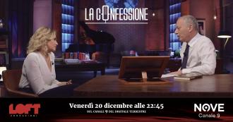 """La Confessione (Nove), Ventura a Gomez: """"Corona? È stato diabolico, ma non intelligente. Per paura registravo colloqui con lui"""""""