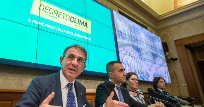 Decreto Clima, i problemi non si risolvono a colpi di provvedimenti parziali