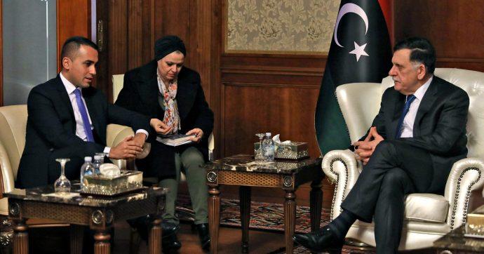 """Libia, Di Maio: """"Memorandum Tripoli-Ankara non ci piace, istituiremo un inviato speciale. Limiti nella gestione dei campi profughi"""""""