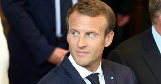 """Macron: """"La Francia è a fianco dell'Italia. L'Europa sia solidale, non egoista e divisa. Draghi ha ragione: si agisca senza limiti"""""""
