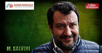 """Migranti, Salvini: """"Io indagato? Chissà se M5s voterà al Senato come nel caso Diciotti. Vicenda Gregoretti è della stessa fattispecie"""""""