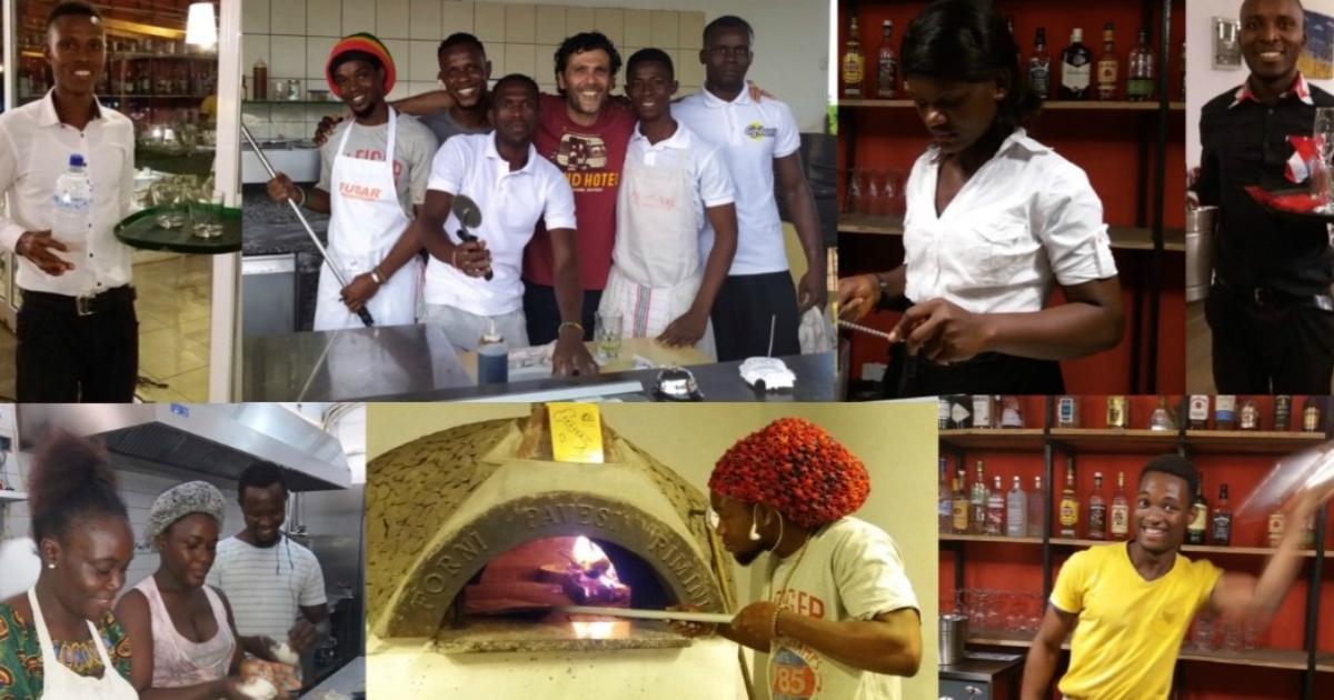 Dalla Sierra Leone per diventare ristoratori: quando con poco si cambia la vita a tanti