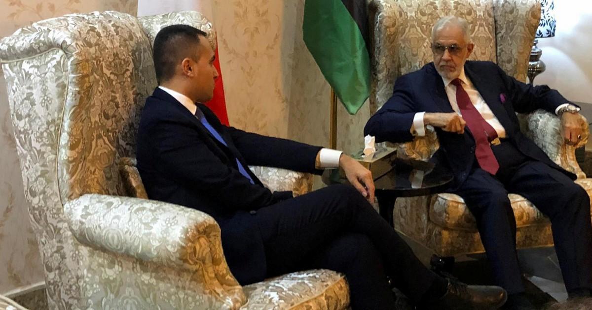"""Di Maio """"pontiere"""" tra Serraj e Haftar. """"In Libia recuperare il tempo perduto"""""""