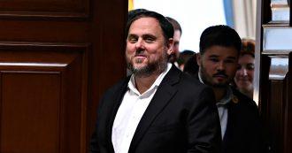 """Catalogna, la Corte di Giustizia dell'Ue contro l'arresto di Oriol Junqueras: """"Gode dell'immunità da europarlamentare"""""""