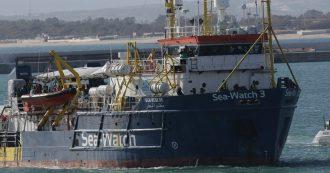 """Migranti, il Tribunale di Palermo ordina il dissequestro della Sea-Watch 3. Ong: """"Siamo liberi, torniamo in mare"""""""