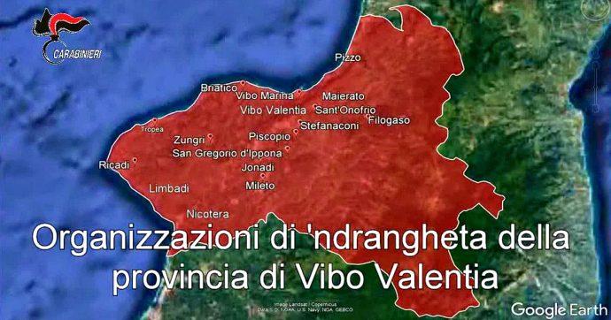 """'Ndrangheta, il giudice: """"I cittadini rinunciano a libertà e diritti. La popolazione della provincia di Vibo assoggettata e oppressa"""""""