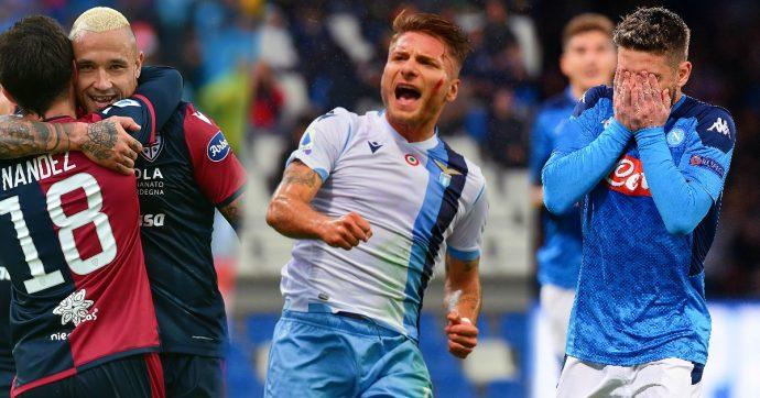 Serie A, il pagellone di Natale – Conte vs Sarri, gli exploit di Lazio e Cagliari, le neopromosse: che bel campionato. Ma anche 4 delusioni