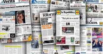 'Ndrangheta, la maxi-operazione scompare dalle prime pagine dei grandi giornali: niente su Stampa e Repubblica, un box sul Corriere