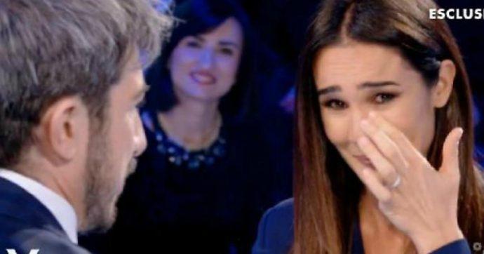 """Verissimo, Paolo Ruffini sputa in faccia a Silvia Toffanin. La reazione della conduttrice: """"Iniziamo malissimo"""""""