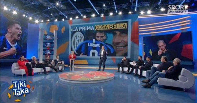 """Tiki Taka, lite tra Wanda Nara e Ciccio Valenti: """"Tifo Inter ma questa è una mancanza di rispetto"""""""
